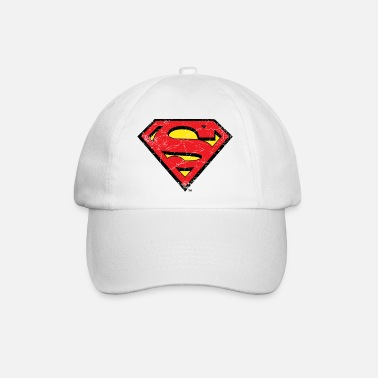 Superman Logo S-Shield vintage Snapback Cap - Baseball cap