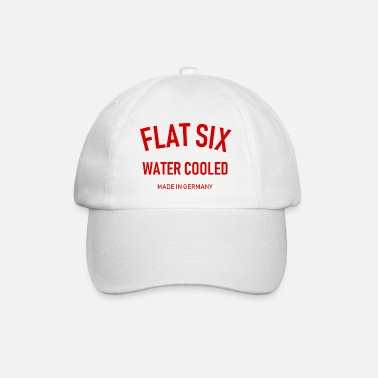 996 Flat Six - Water Cooled - Made in Germany - Boxer - Baseball Cap