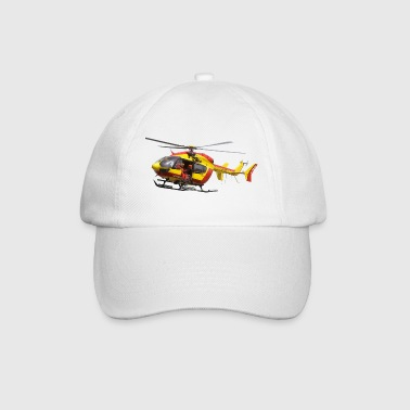 Helicopter helicopter EC145 civil security - Baseball Cap
