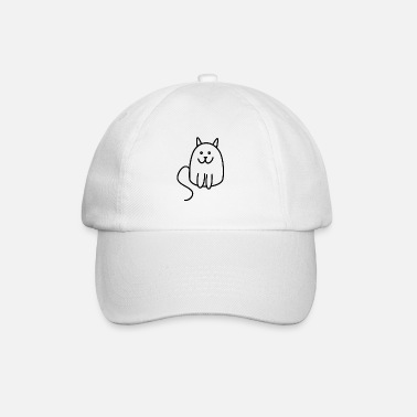 catty cat - Baseball Cap