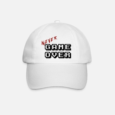 Game Never game over transparent - Casquette baseball
