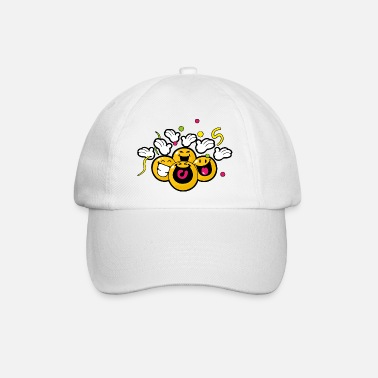 Smiley New Year Celebrating - Baseball Cap