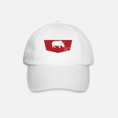 Roter Planet #2 white rhino (red list) II - Baseball Cap