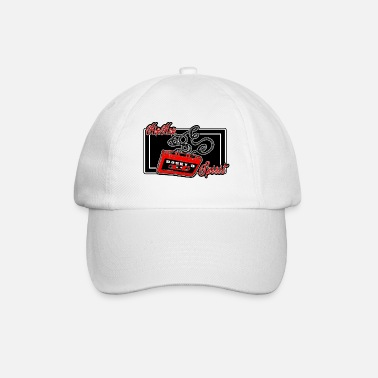 audio cassette - Baseball Cap