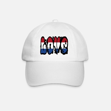 Pays Amour Pays-Bas - graffiti - Casquette baseball