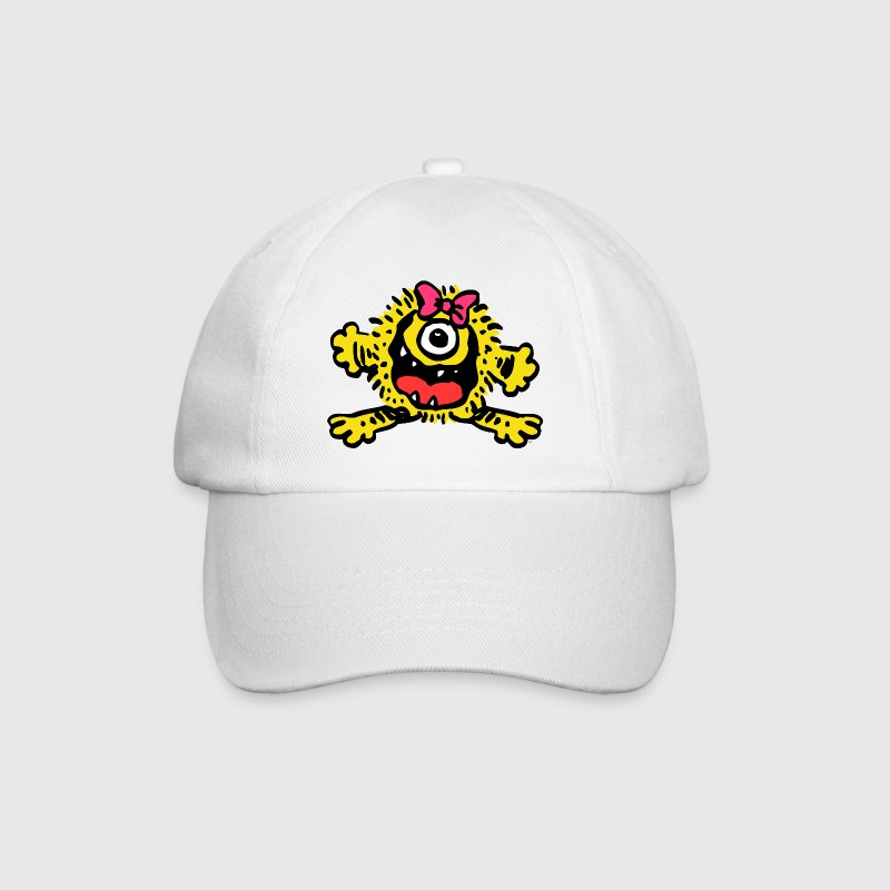 Cute Cartoon Girlie Monster by Cheerful Madness!! - Casquette classique