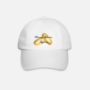 Wedding Contest Wedding rings wedding (wedding contest) - Baseball Cap