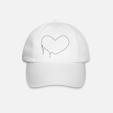 Coeur coulant minimal - Casquette baseball