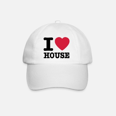 House I love house / I heart house - Cappello con visiera