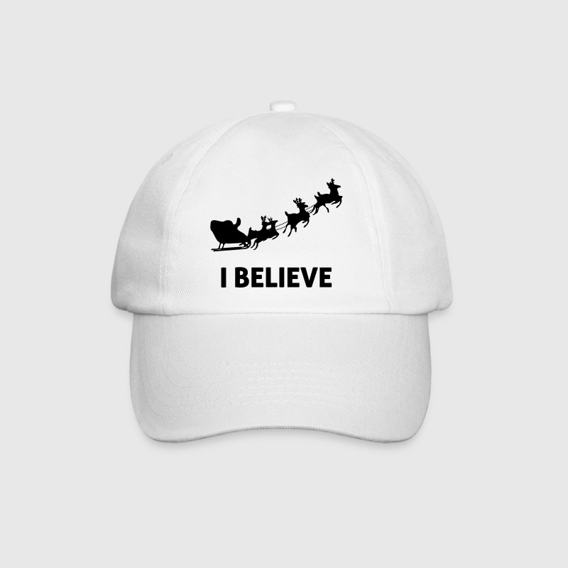 I Believe In Santa Claus - Baseball Cap