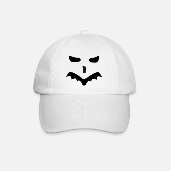 Bad Boy Caps & Hats - Bath pumpkin - Baseball Cap white/white