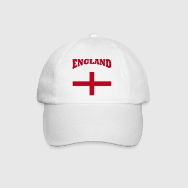 England + cross - Baseball Cap