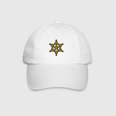 sheriff star_se6 - Baseball Cap