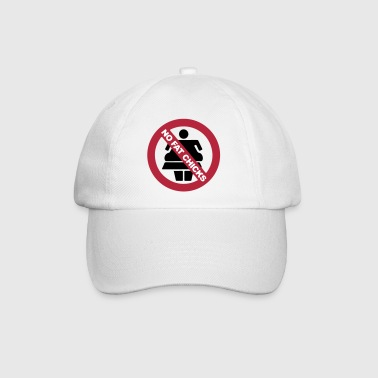 NO FAT CHICKS BUTTON - Baseballcap