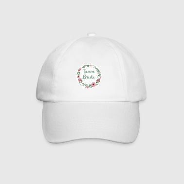team_bridet_flower_1 - Baseball Cap
