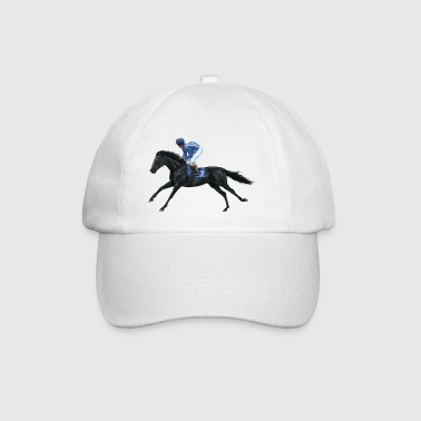 Black Racehorse - Baseball Cap