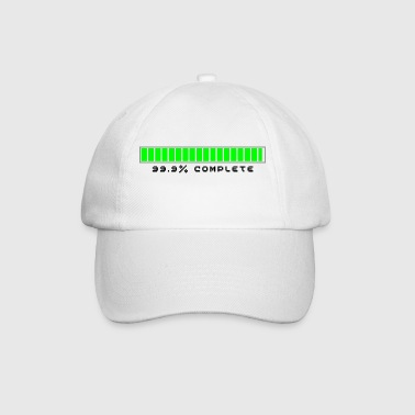 99.9% Download Complete - Baseball Cap