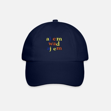 Tekst I am what I am - Baseball cap