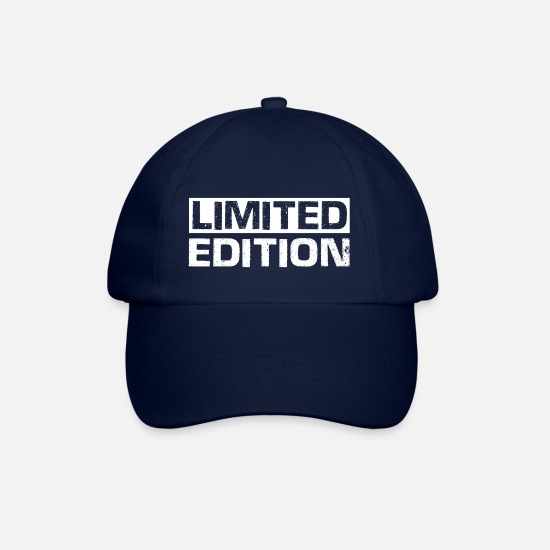 Slogan Caps & Mützen - Limited Edition - Slogan - Motto - Baseball Cap Blau/Blau