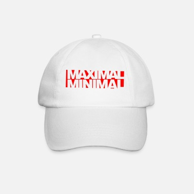Minimum Inverser minimum maximum - Casquette baseball