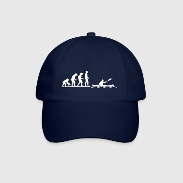 evolution of canoeing Kanu Kanuten paddeln Verein - Baseballcap