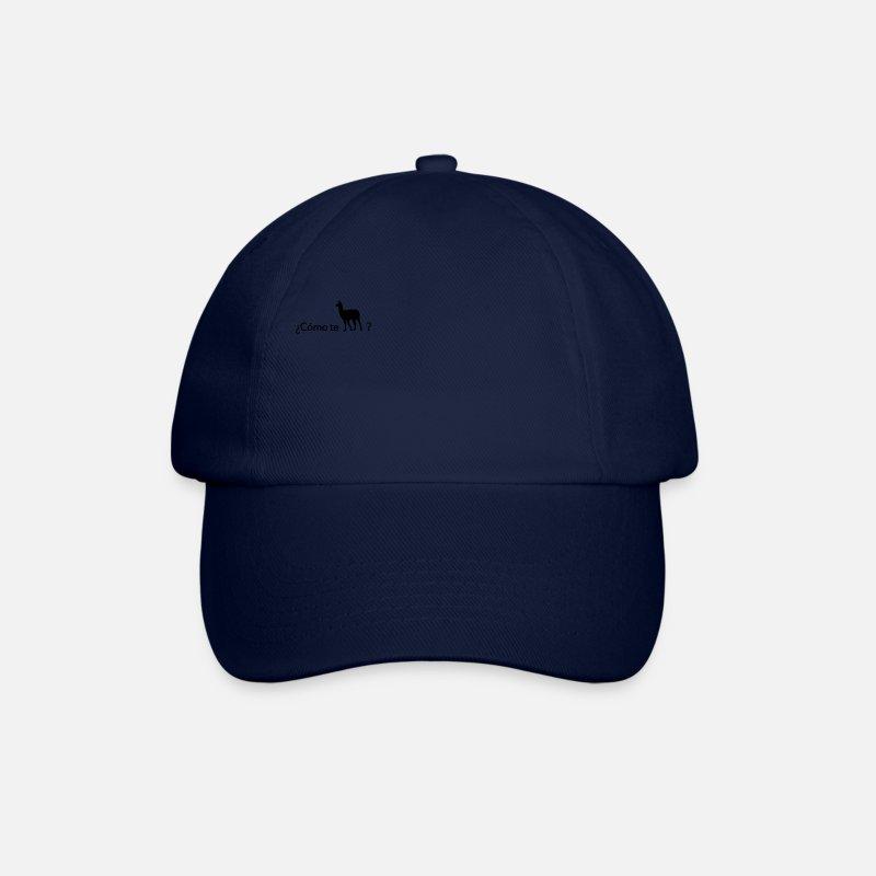 Como te llamas? Baseball Cap   Spreadshirt