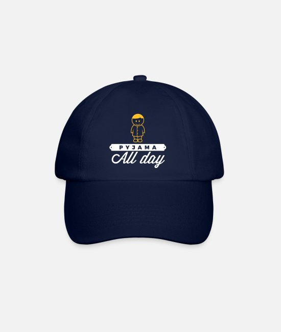 Bed Caps & Hats - Throughout The Day In Your Pajamas! - Baseball Cap blue/blue