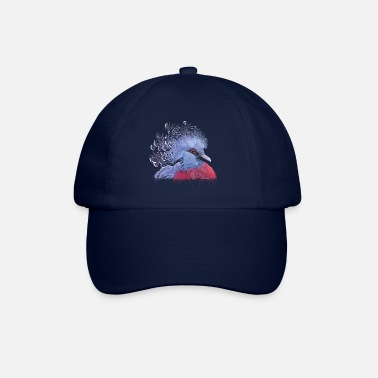 Duif crowned pigeon - Casquette baseball