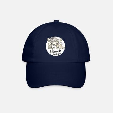 French &amp French Bulldog - Baseball Cap