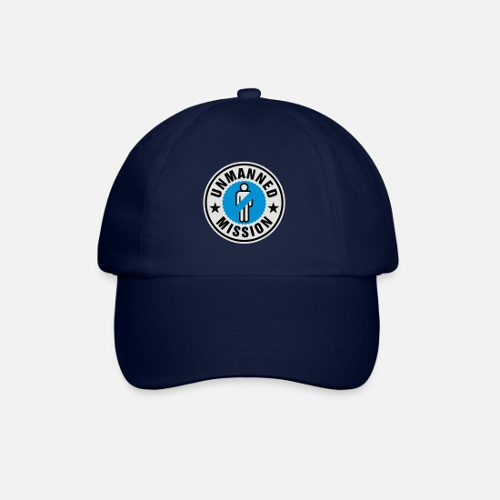 Mission Casquettes et bonnets - Unmanned mission | Hen Night - Casquette baseball bleu/bleu