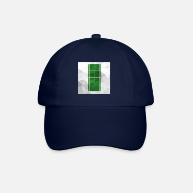 Tennis white green court - Baseball Cap
