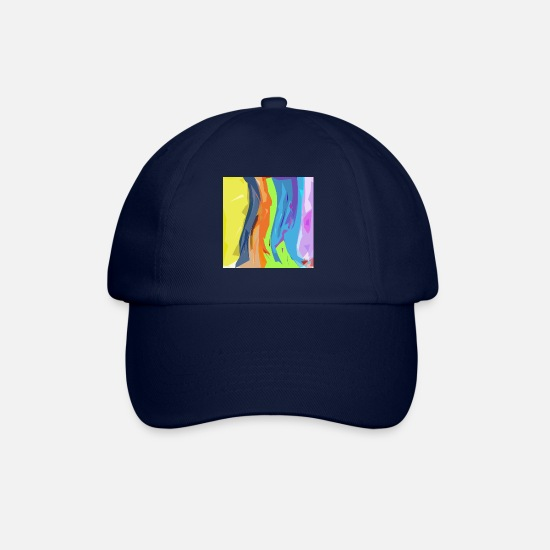 Group Caps & Hats - Pop art37 - Baseball Cap blue/blue