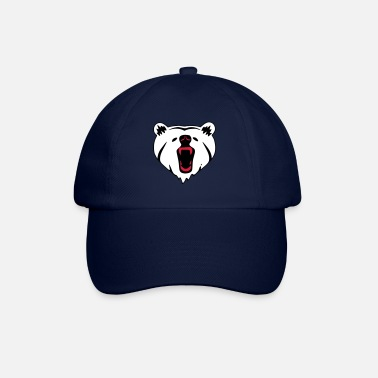 I Love ❤️Ours rugissant - Meilleur animal sauvage - Casquette baseball