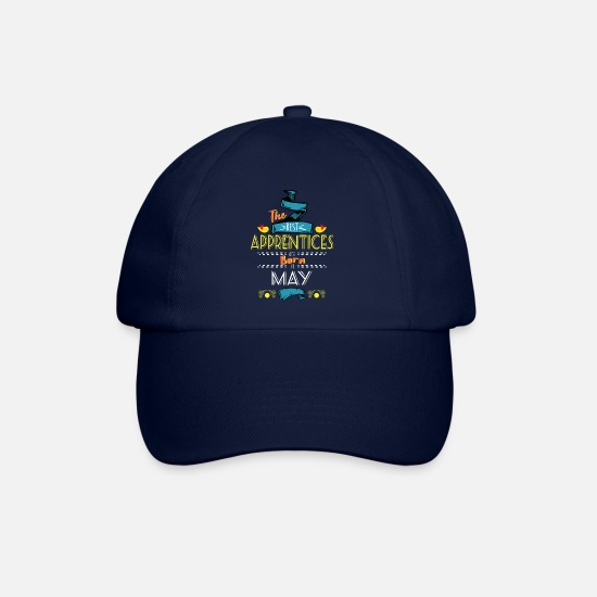 Gift Idea Caps & Hats - Best Apprentices are Born in May Gift Idea - Baseball Cap blue/blue
