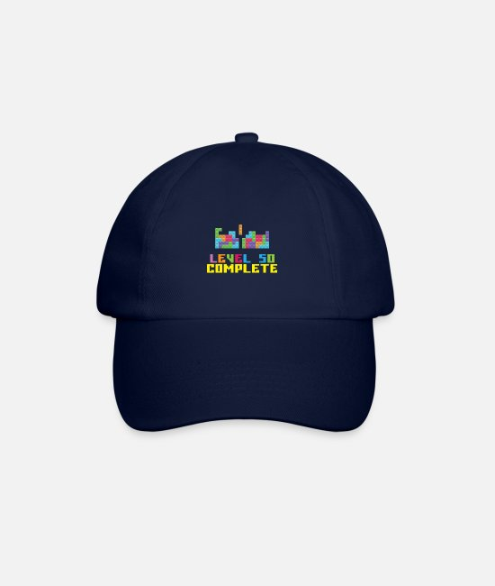 Game Caps & Hats - Level 50 Complete - Baseball Cap blue/blue