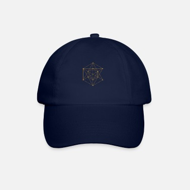 Geometry Sacred Geometry - Hexagon - Baseball Cap