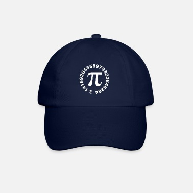Number Pi Number Advertised Circle - Baseball Cap