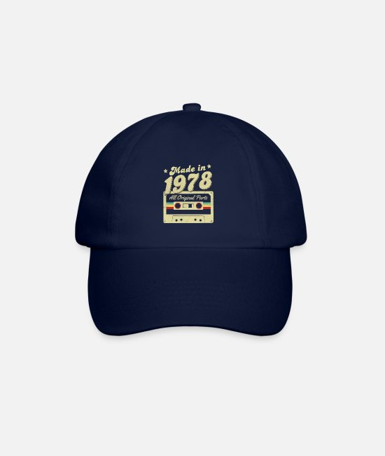 1978 Legends Caps & Hats - Made in 1978 - Baseball Cap blue/blue