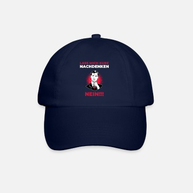 Taciturn Funny Slogan Tshirt Humorous Gift Men - Baseball Cap