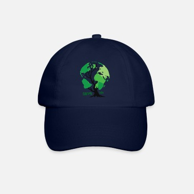 Planet save the planet - Baseball Cap