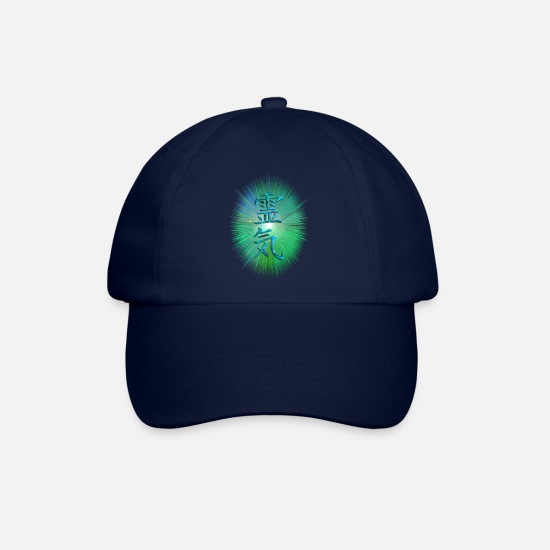 Reiki Caps & Hats - REIKI energy - Baseball Cap blue/blue