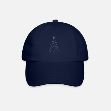Christmas tree | white - Baseball Cap