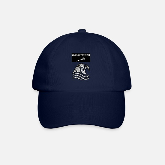 Aquarius Caps & Hats - Aquarius - Baseball Cap blue/blue