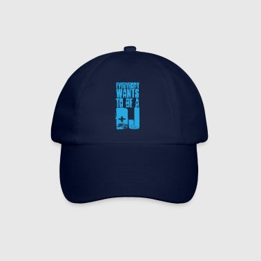 Be A DJ EDM Quote - Gorra béisbol