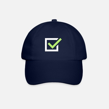 Tick tick tick mark - Baseball Cap