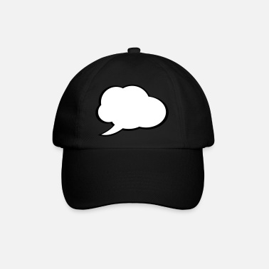 Speech Speech Bubble - Baseball Cap