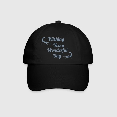 wonderful day - Baseballcap
