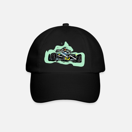 Race Caps & Hats - Racing - Baseball Cap black/black