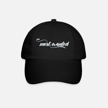 Wanted most wanted - Cappello con visiera