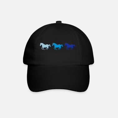 Galop Drie paarden in galop - Baseball cap